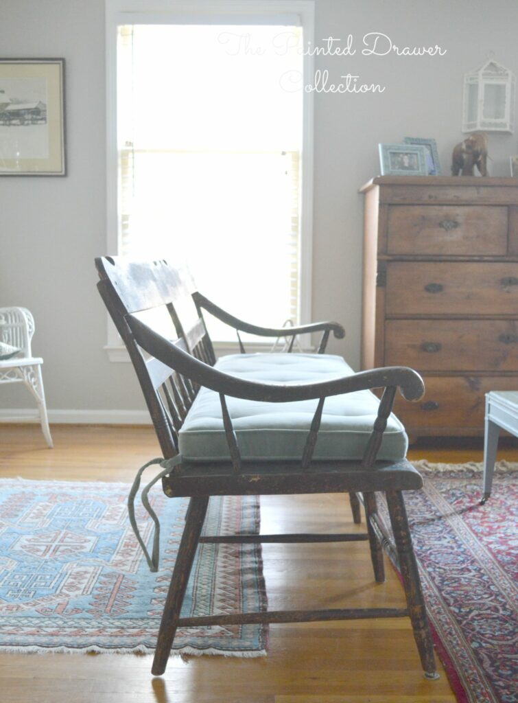 Vintage Deacons Bench – Leave It or Paint It?