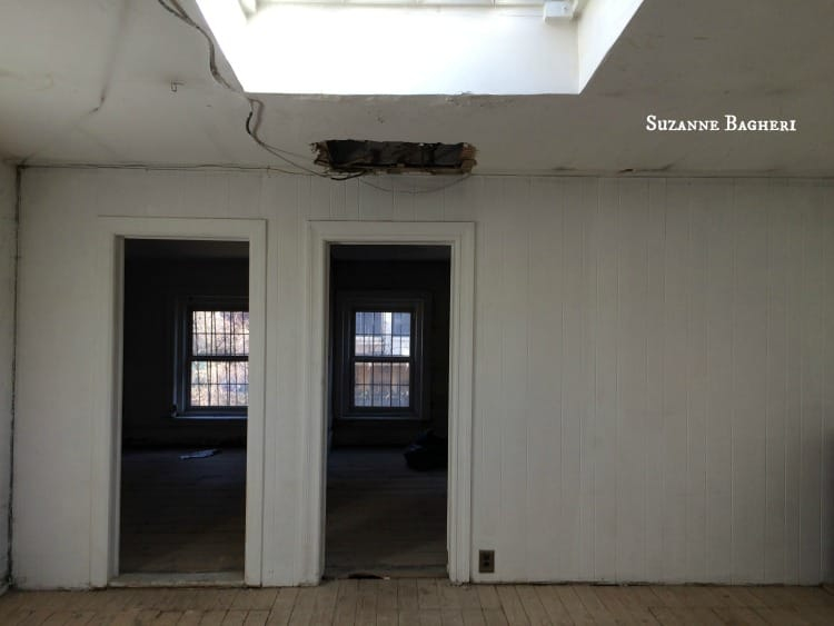 Brooklyn Carriage House Bedrooms prior to renovation