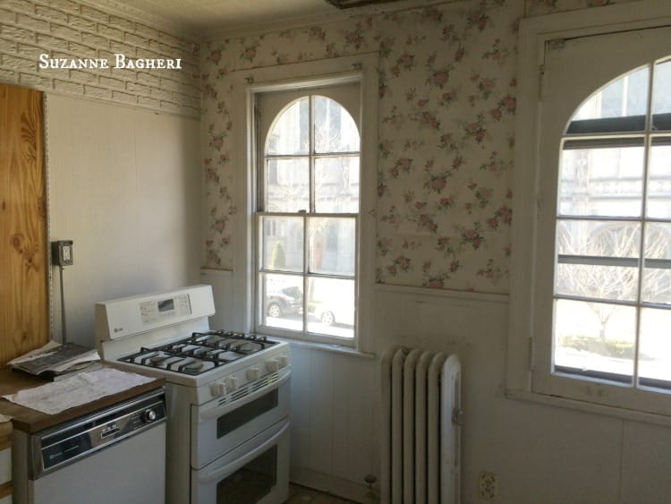 Brooklyn Carriage House Kitchen before renovation