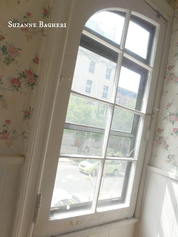 Carriage House Brooklyn kichen window