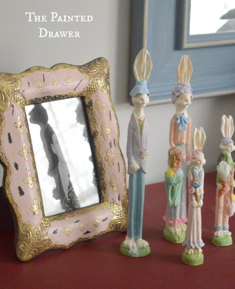 Easter Decor by The Painted Drawer by Suzanne Bagheri