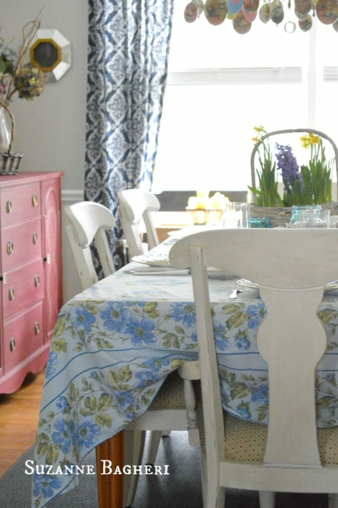 Easter Decor for Dining Room by Suzanne Bagheri