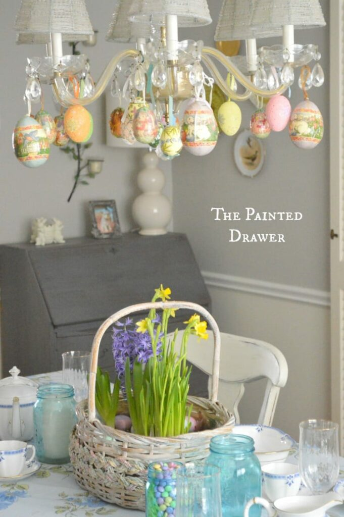 Easter Dining Room Decor