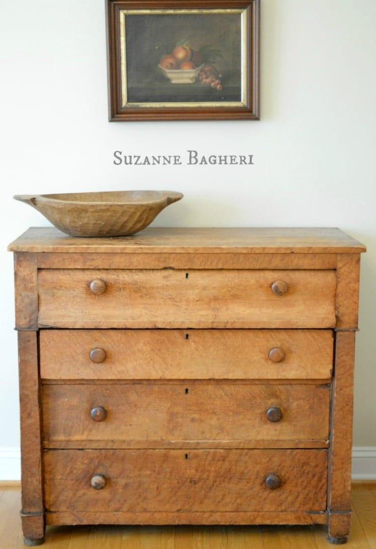 A True Farmhouse Dresser And Drop Leaf Table