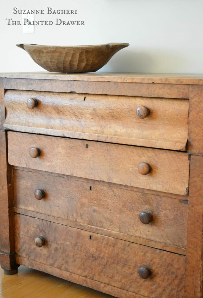 Farmhouse Chest, Empire chest, vintage antique dresser