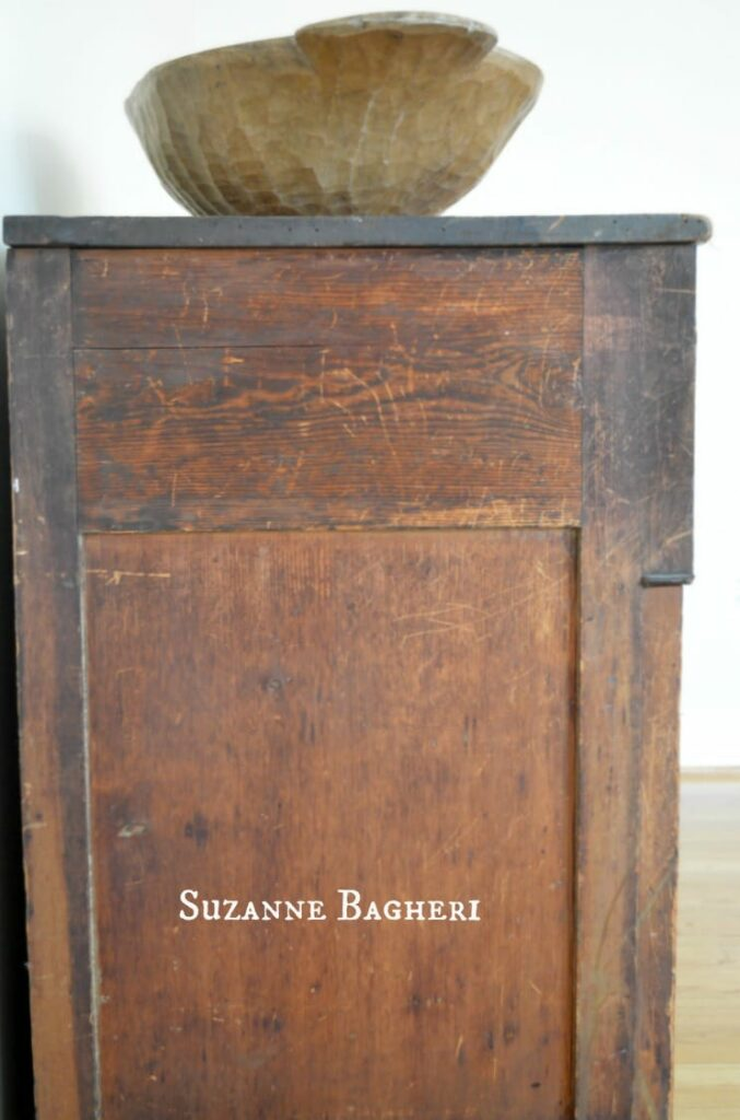 Farmhouse Chest, bare wood dresser