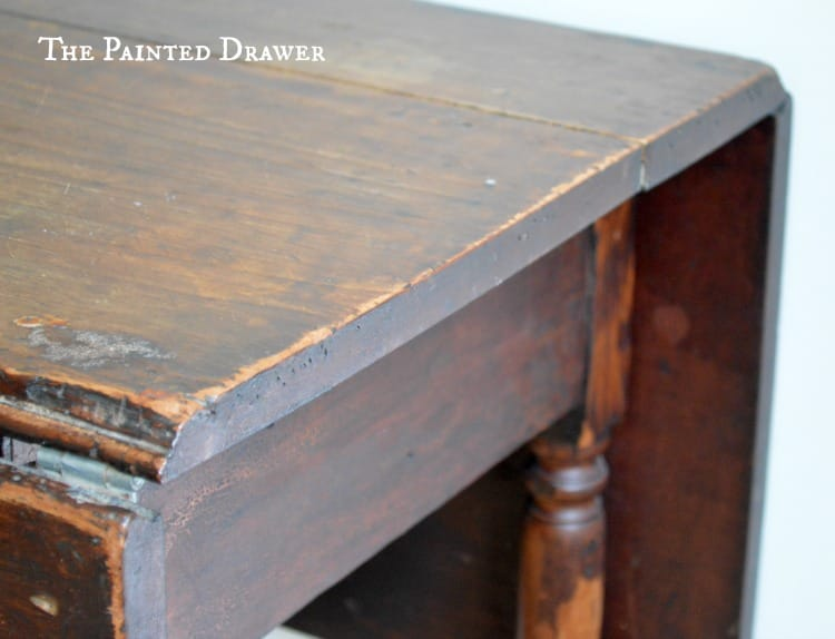 Vintage Gateleg, dropleaf table