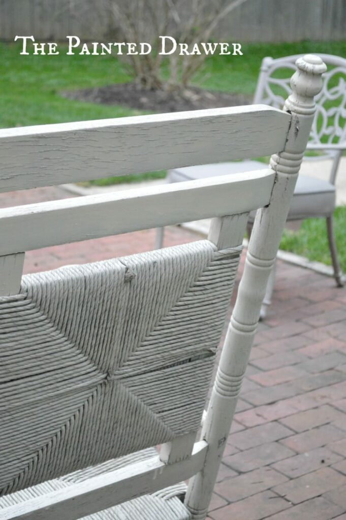 Vintage Rush Seat Rocking Chair, for my porch, porch rocker