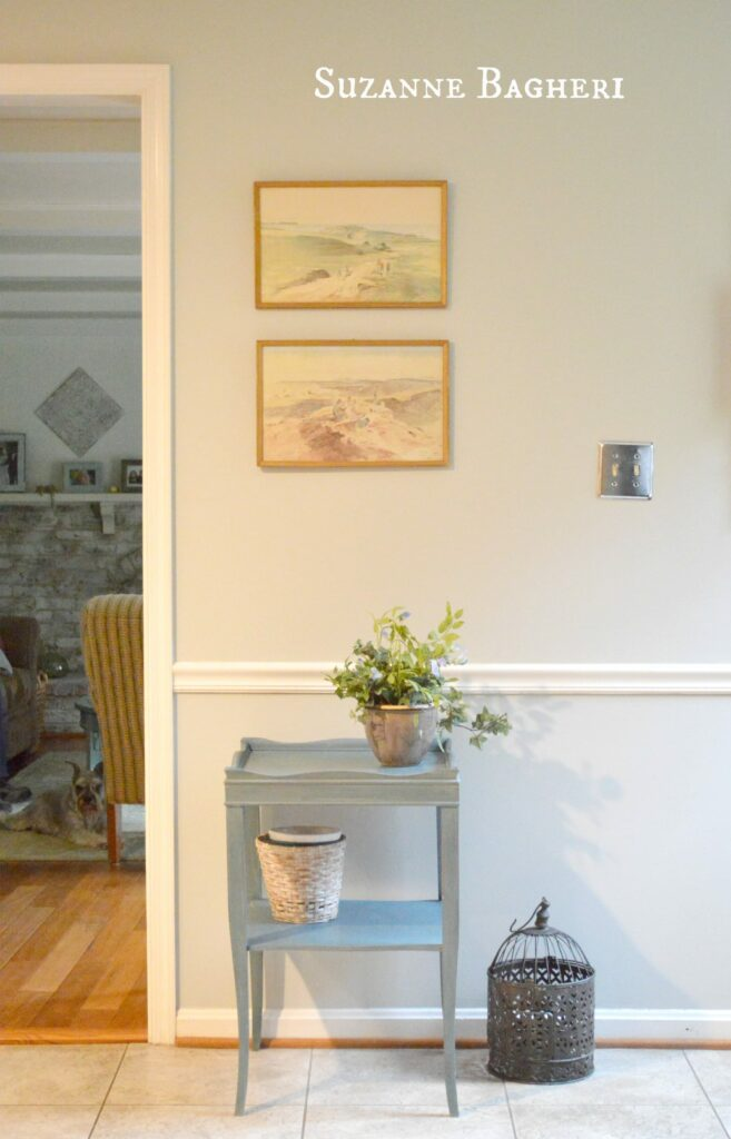 Before and After in Annie Sloan Aubusson for My Home