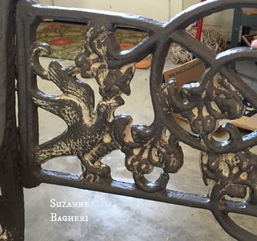 Cast Iron Vintage Bench