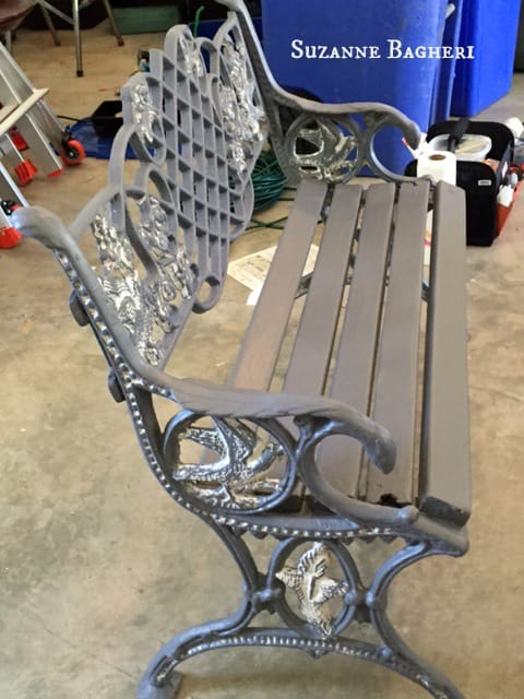 Cast Iron Bench 4