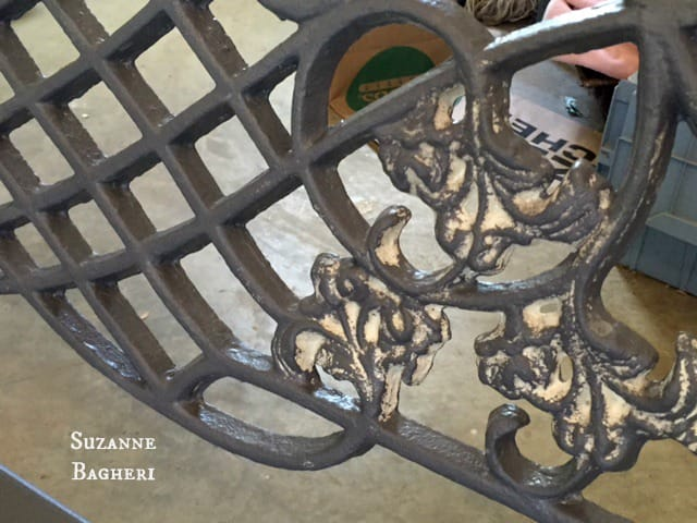 Cast Iron Bench 6
