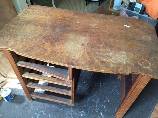 Desk Before Pics