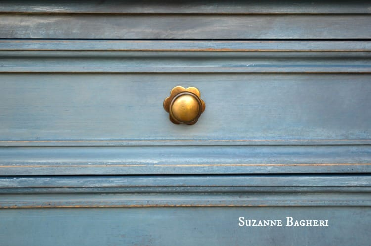 Painted Drawer in Annie Sloan Chalk Paint Aubusson by The Painted Drawer