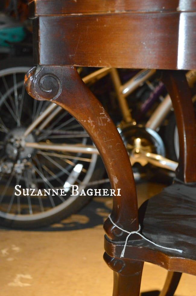 Vintage Table detail