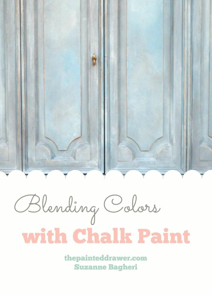 mixing chalk paint