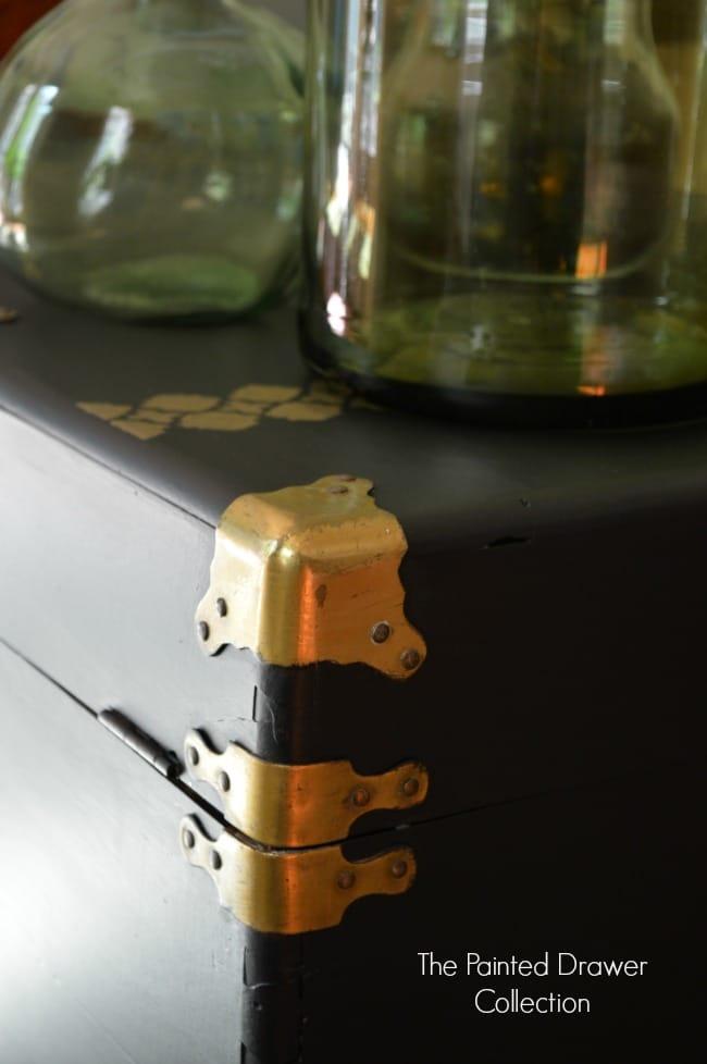 Cedar Chest Brass Details
