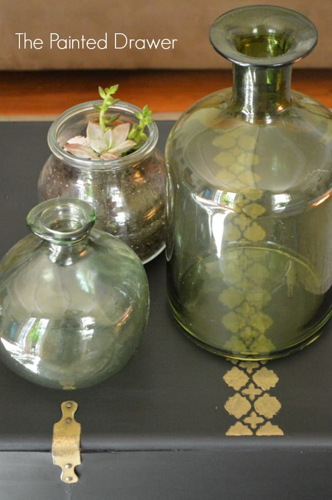 Cedar Chest Glass Bottles