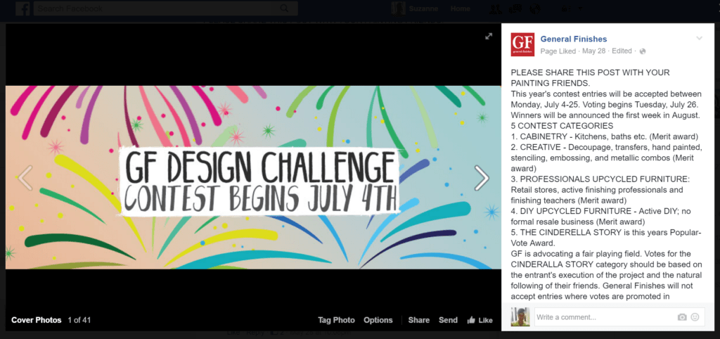 General Finishes Design Challenge Contest