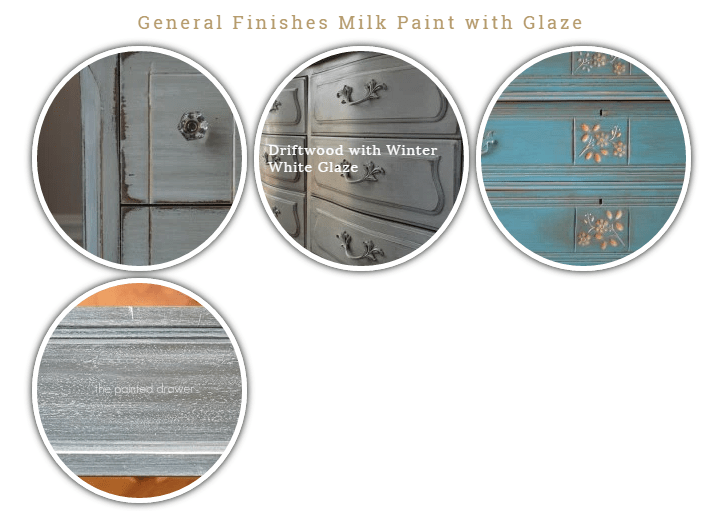 General FInishes Milk Paint with Glaze