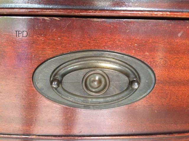 Hepplewhite drawer pull