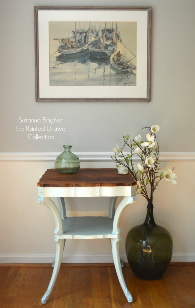 Vintage Table painted in Country Chic paint