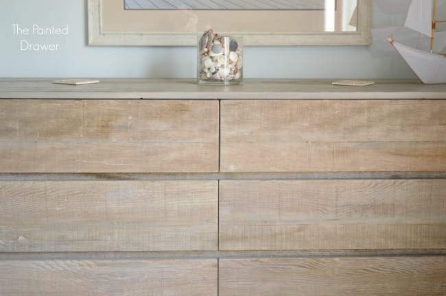 Beach House Whitewashed Dresser