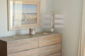 Beach House Whitewashed Dresser