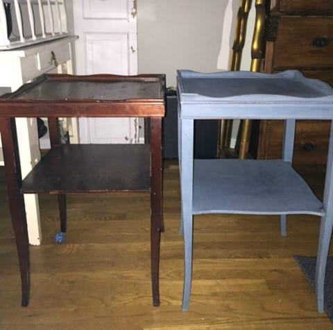 Pair of Vintage Table