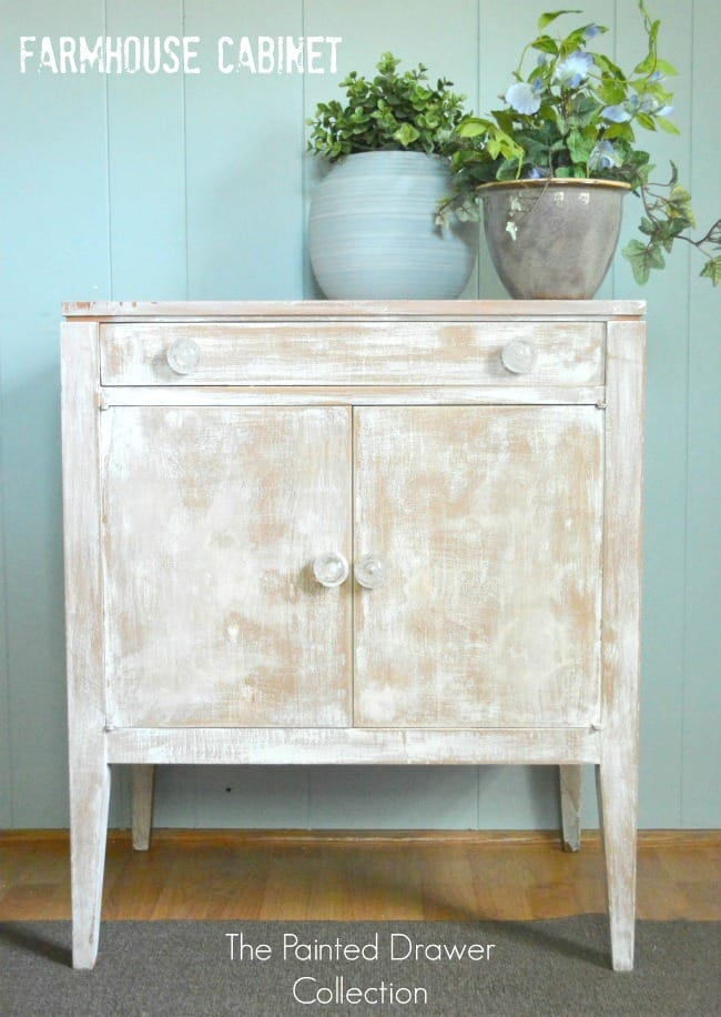 Farmhouse Cabinet by The Painted Drawer Collection