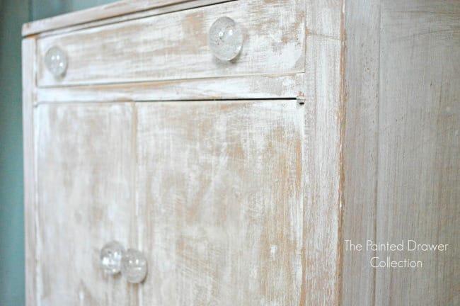 Farmhouse Cabinet whitewash