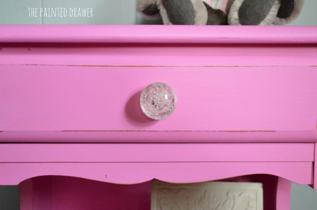 BM Spring Azalea painted drawer