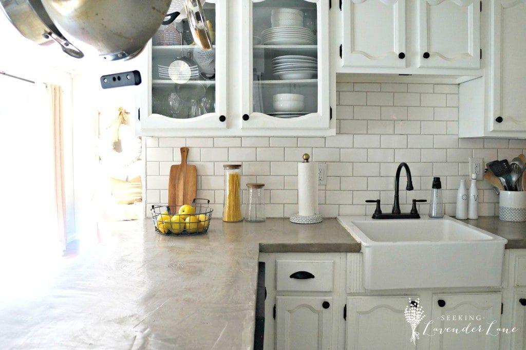 Farmhouse Kitchen by Seeking Lavender Lane