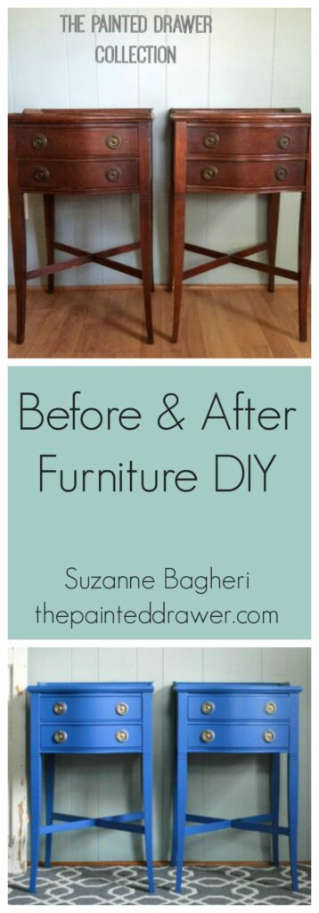 furniture diy before and after vintage painted tables