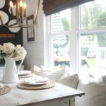 Distressed Farmhouse Table by Seeking Lavender Lane