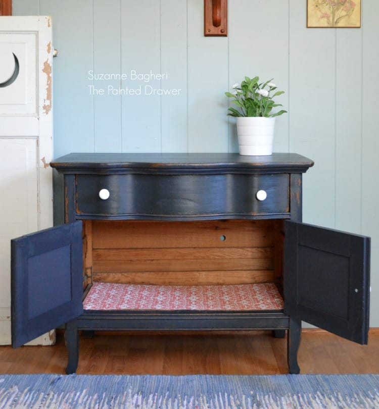 General Finishes Midnight Blue Cabinet