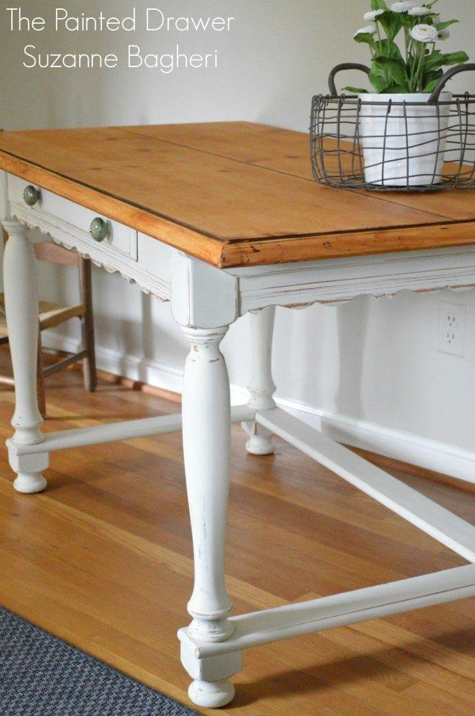 french farmhouse desk