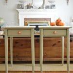 Annie Sloan Versailles Tables