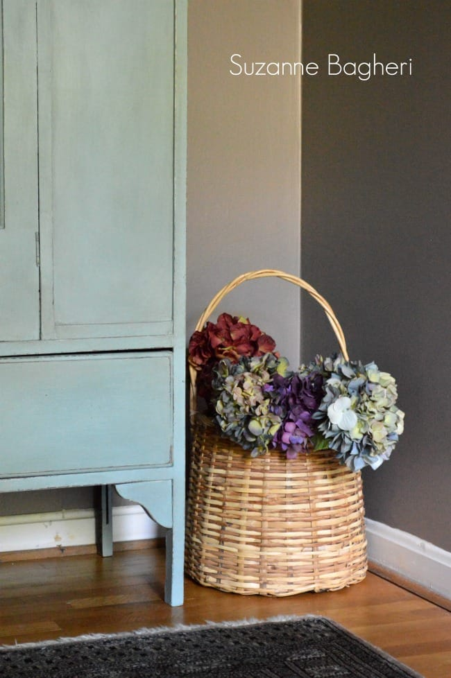 Duck Egg Vintage Armoire by Suzanne Bagheri