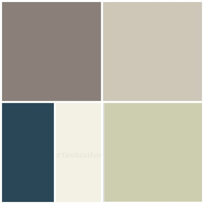 My Homes Color Scheme