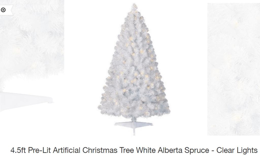 I'm Dreaming of a White Christmas…Tree