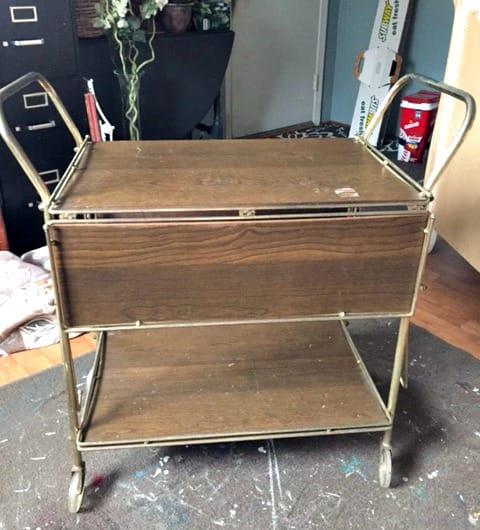 FFM: Vintage Bar Cart