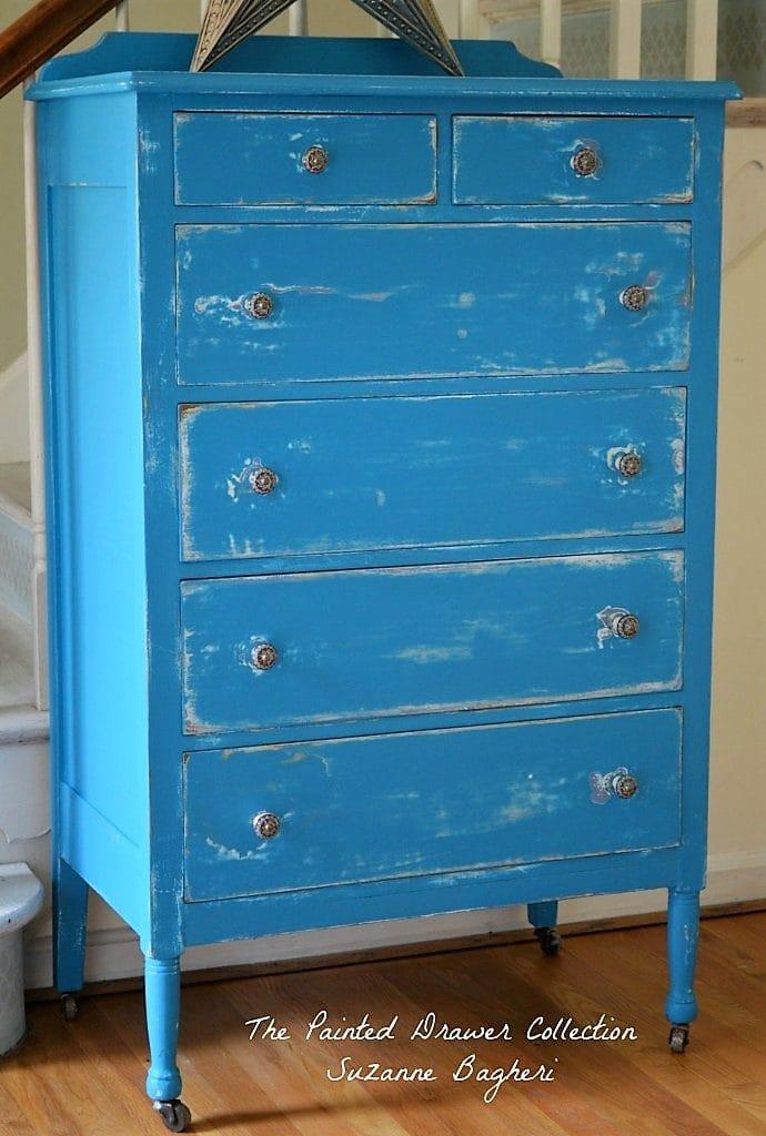 Corinth Blue Celestial Dresser