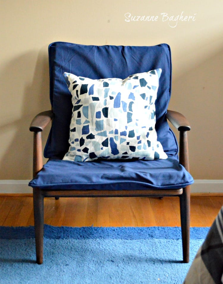 Mid-Century Modern Chair Finished! Before and After