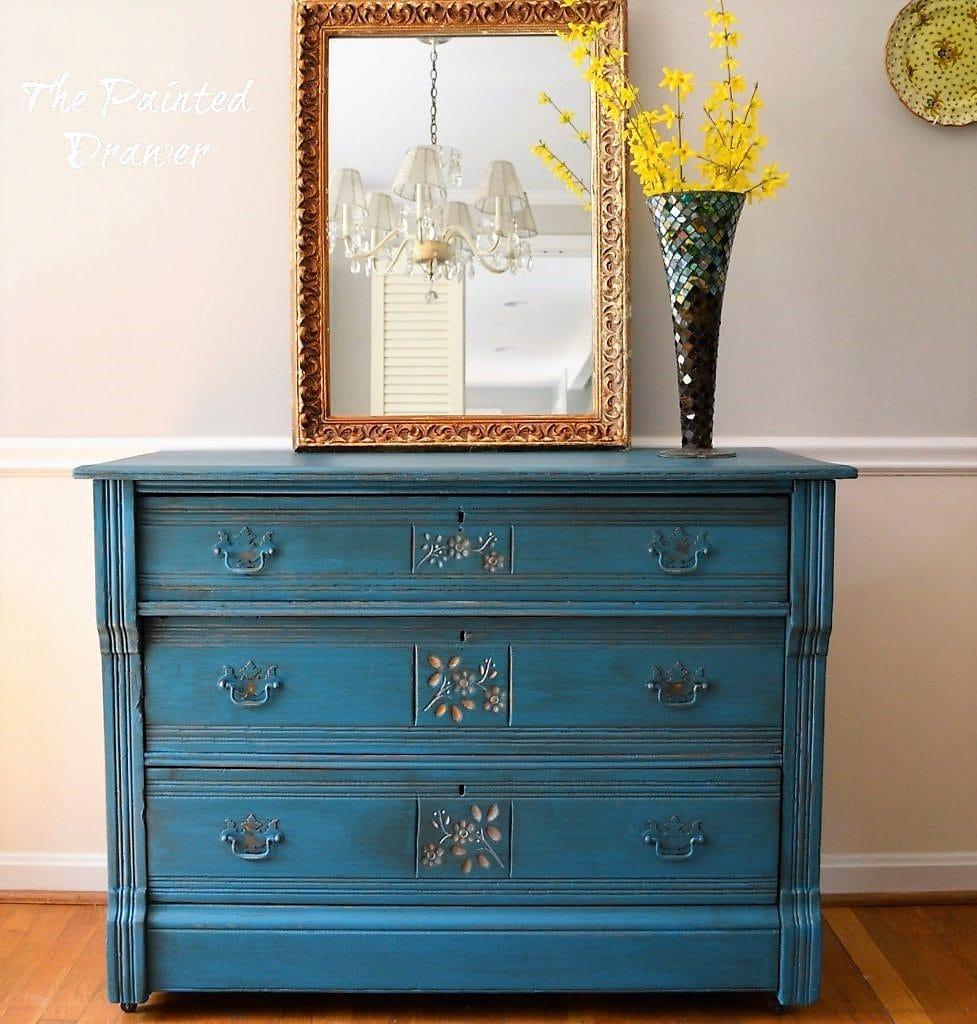Peacock Eastlake Dresser