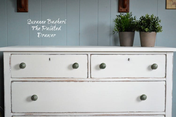 Simply White Farmhouse Dresser Before And After