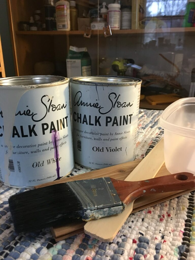 Annie Sloan color mix