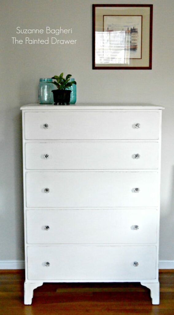 Annie Sloan Pure White Farmhouse Dresser