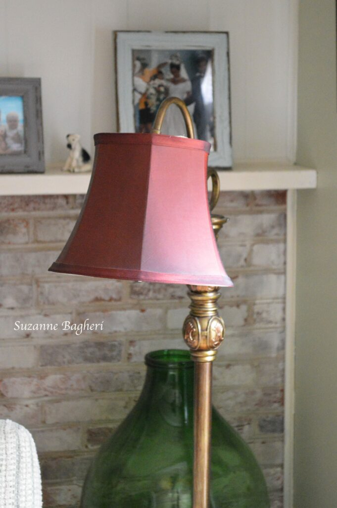 My Downton Abbey Lamp – Thrift Store Score