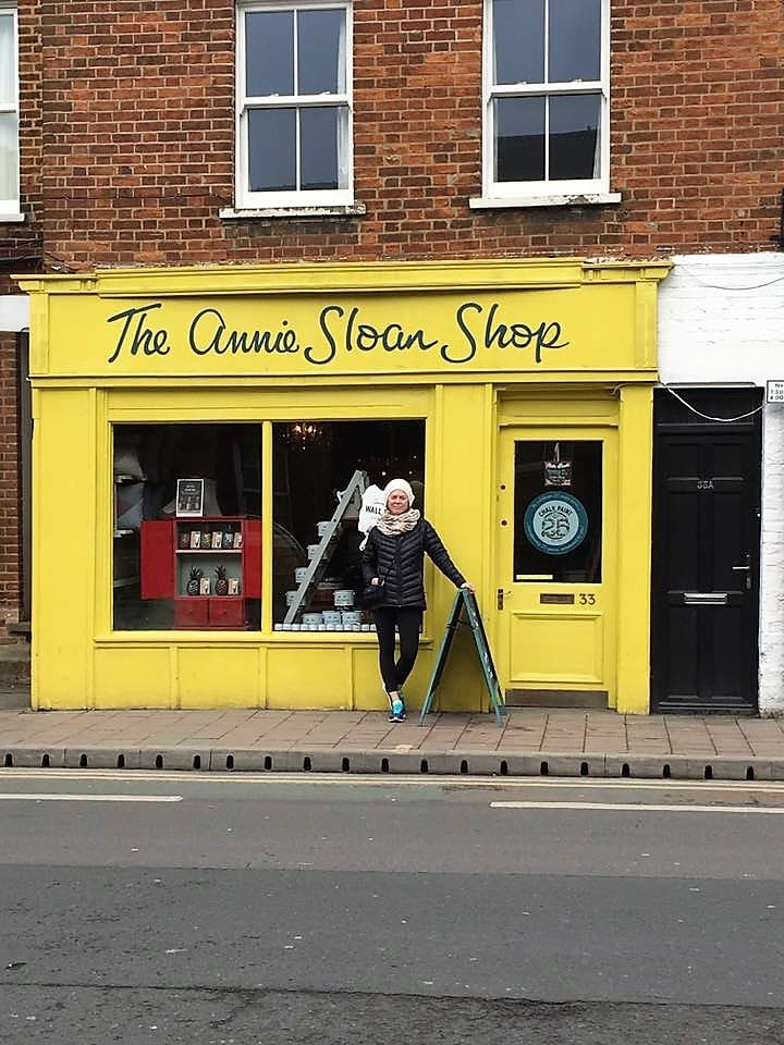 Oxford, England and the Annie Sloan Shop